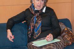 Povratnica iz Venezuele mr. sc. Anica Markov na tribini Zbirke inozemne Croatice.