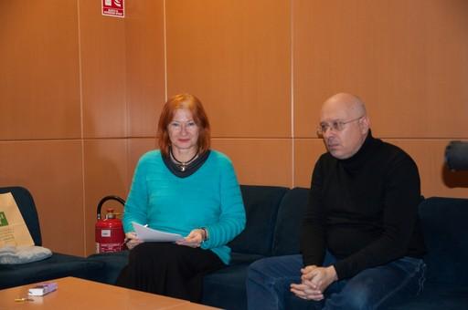 Voditeljca tribine dr. sc. Željka Lovrenčić i povjesničar Marin Knezović.