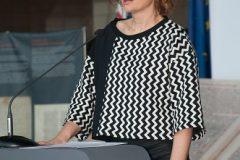 Spisateljica Snježana Babić Višnjić na završnoj svečanosti Nacionalnoga kviza za poticanje čitanja u NSK.