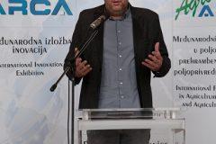 Predsjednik Hrvatske zajednice tehničke kulture Ivan Vlainić na svečanome otvorenju 16. međunarodne izložbe inovacija ARCA 2018 i 10. međunarodnoga sajma inovacija u poljoprivredi AGRO ARCA.