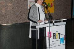 """Voditeljica Nacionalne kampanje za osobe s teškoćama čitanja i disleksijom """"I ja želim čitati!"""" i moderatorica događanja """"Pričajmo pokretom!"""" Željka Miščin."""