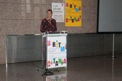 """Glazbena pedagoginja Larisa Lipovac Navojec na događanju """"Pričajmo pokretom!""""."""