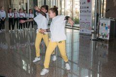 """Nastup dječje hip hop i breakdance skupine """"Atomic Dance Factory"""" na događanju """"Pričajmo pokretom!""""."""