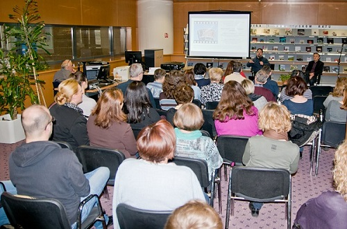 """Održano predavanje """"Filmski Vukovar – između propagande i mitologije""""."""