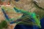 Zemljopisni vizualni mrežni prikaz zastupljenosti različitih vrsta keramike po arheološkim nalazištima u zapadnom Indijskom oceanu za razdoblje od 1. do 6. stoljeća (Izvor: J. Preiser‐Kapeller, Austrijska akademija znanosti).