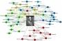 """Tzv. """"ego-mreža"""" (mreža prema fokusnom čvoru) Franza Conrada von Hötzendorfa (1852‐1925), načelnika Glavnog stožera Austrijsko-mađarske vojske na početku Prvog svjetskog rata. Wolfram Dornik i Johannes Preiser‐Kapeller."""