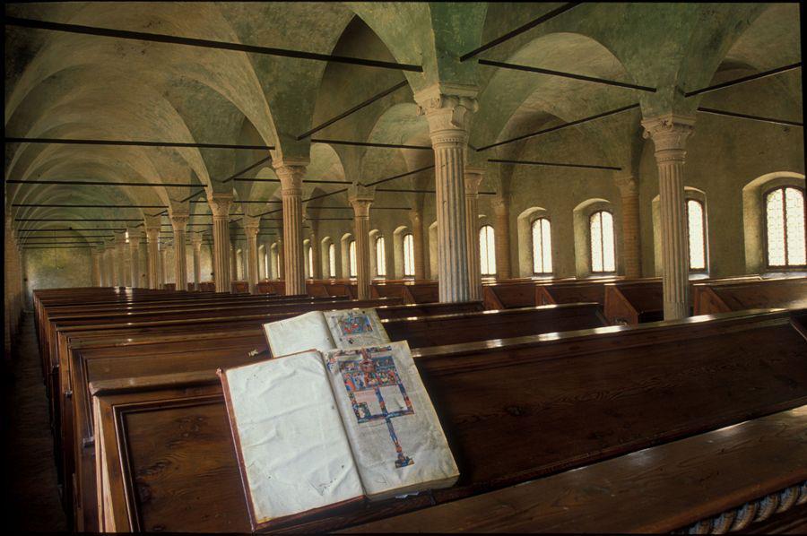 Knjižnica Malatestiana. Izvor: https://www.google.com/maps/d/embed?mid=z-_hllGxLAeY.kbBfUac9N1lI
