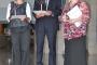 Ankica Orkić, Miroslav Cindori and Ludmila-Milica Pocza, winners of the Maslačak znanja, i.e. Dandelion of Knowledge Awards for accomplishments in adult education