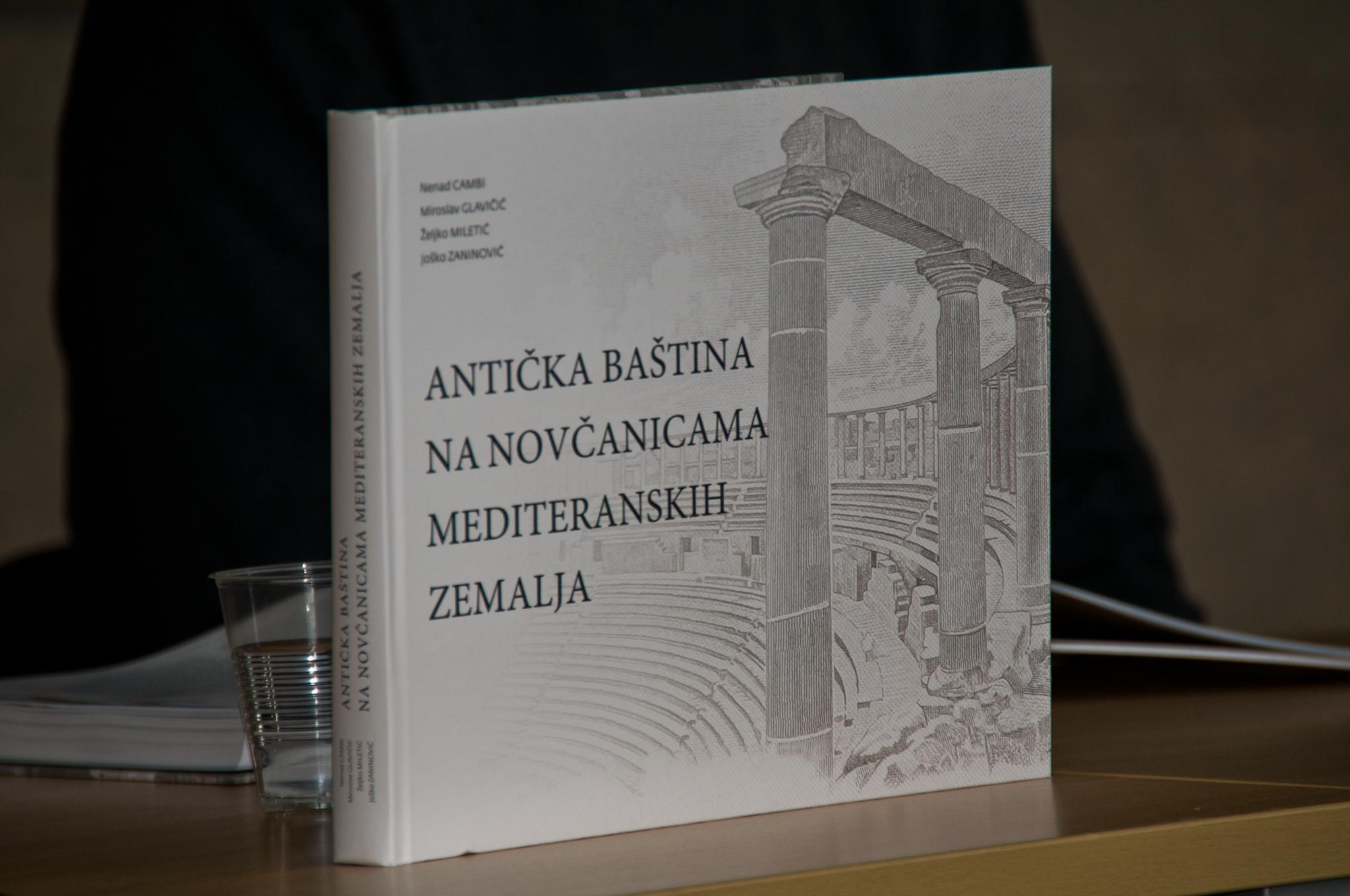 """Otvorena izložba i predstavljena knjiga """"Antička baština na novčanicama mediteranskih zemalja""""."""