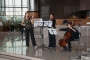 "Glazbeni trio ""Il Gdae"" na otvorenju izložbe ""Napredak: 1990. – 2015.""."