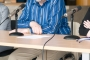 "Donator plakata Mirka Ilića i utemeljitelj zaklade ""AIC Foundation"" Krešimir Penavić na otvorenju izložbe plakata Mirka Ilića iz donacije zaklade ""AIC Foundation"" Grafičkoj zbirci NSK."