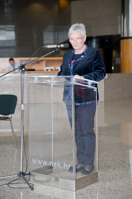Glavna ravnateljica NSK Dunja Seiter-Šverko.