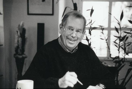 Václav Havel (1936. – 2011.). Autor fotografije: Oldřich Škácha. Izvor: http://www.vaclavhavel-library.org/en/.