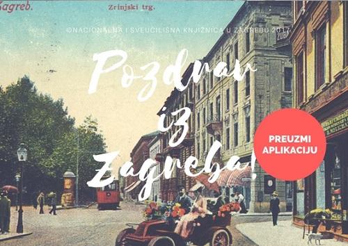 "Predstavljanje mobilne aplikacije Nacionalne i sveučilišne knjižnice u Zagrebu ""Pozdrav iz Zagreba ""."