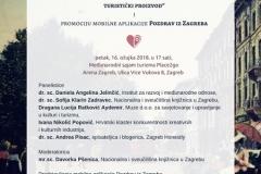 """Panel rasprava """"Pozdrav iz Hrvatske – kulturna baština kao turistički proizvod"""" u Areni Zagreb."""