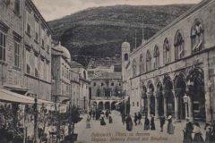Razglednica Iva Vojnovica upućena Blagoju Bersi, prednja strana.