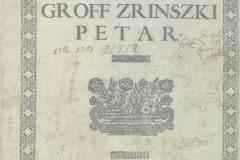 """Zrinski, Petar. """"Adrianskoga mora Syrena."""""""