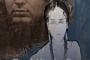 """Plakat međunarodnog projekta """"Kroz Mirandine oči"""" i izložbe """"Miranda – holokaust Roma. Tko se boji bijeloga čovjeka?"""". Izvor: Finska kreativna udruga za umjetnost i kulturu """"DROM""""."""