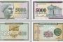 """Armenske novčanice. Fotografije preuzete s panoa izložbe """"Antička baština na novčanicama mediteranskih zemalja""""."""