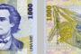 """Rumunjska novčanica. Fotografije preuzete s panoa izložbe """"Antička baština na novčanicama mediteranskih zemalja""""."""