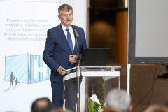 Ministar zdravstva Milan Kujundžić na predstavljanju projekta izgradnje nacionalne dječje bolnice u Zagrebu.