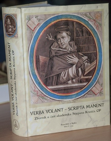 """Predstavljen zbornik """"Verba volant – Scripta manent"""" u Nacionalnoj i sveučilišnoj knjižnici u Zagrebu."""