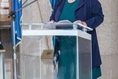 Okupljene je pozdravila glavna ravnateljica Nacionalne i sveučilišne knjižnice u Zagrebu prof. dr. sc. Ivanka Stričević.