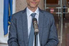 "Izv. prof. dr. sc. Boris Kuzmić na predstavljanju izdanja ""Korizmenjak: Senj, 1508.: latinična transkripcija glagoljskoga teksta (s uvodom i rječnikom)""."