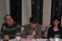 """Dr. sc. Tin Lemac, Luka Tripalo i Dobrila Zvonarek na predstavljanju pjesničke zbirke """"Ptica na ušću smoga""""."""