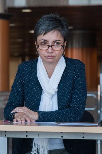Voditeljica Grafičke zbirke Nacionalne i sveučilišne knjižnice u Zagrebu mr. sc. Tamara Ilić-Olujić.