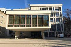 Institut informacijskih znanosti (IZUM) u Mariboru u Sloveniji. Izvor fotografije: stranica Međunarodnoga ureda za ISSN (ISSN IC) na Facebooku.