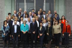 Sudionici 32. sastanka Konferencije ravnatelja europskih nacionalnih knjižnica 2018. godine.