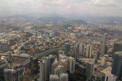Kuala Lumpur, Malezija. Panorama grada.