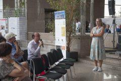 Moderatorica dr. sc. Almuth Gastinger (Norveška) na pretkonferenciji CPDWL u NSK 21. kolovoza 2019. godine.