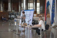 Pozvana izlagačica prof. dr. sc. Tatjane Aparac–Jelušić i članica Organizacijskoga odbora pretkonferencije dr.sc. Dijana Machala na pretkonferenciji CPDWL u NSK 21. kolovoza 2019. godine.