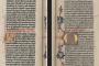 Gutenberg Bible, Vol. 2 (1454-1455, Mainz, Germany). Vatican Library (Biblioteca Apostolica Vaticana). Source: http://digi.vatlib.it/.