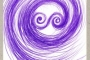 "Boris Demur (1951 – 2014). ""Poema zastava spiralnog determinističkog kaosa u spiralnom yin yangu"". Source: http://www.avantgarde-museum.com/hr/museum/."