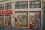 Gradska knjižnica, Lyon, Francuska. Izvor: http://bookriot.com/2015/08/10/7-literary-murals-bookstores-libraries/