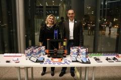 Dr. sc. Tatijana Petrić, glavna ravnateljica Nacionalne i sveučilišne knjižnice u Zagrebu i Nenad Bakić, osnivač Instituta za razvoj i inovativnost mladih