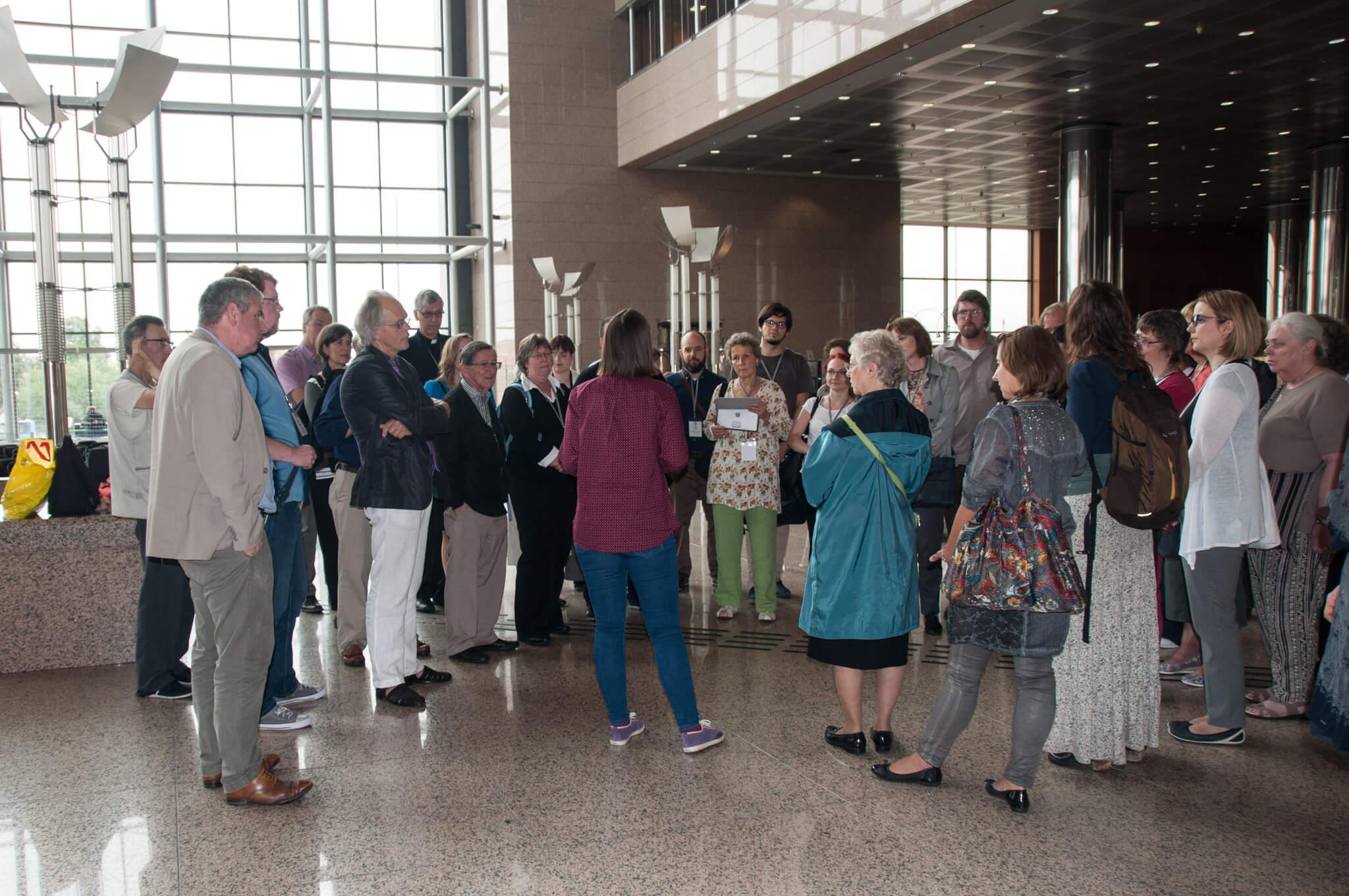 Sudionici konferencije BETH posjetili su Nacionalnu i sveučilišnu knjižnicu u Zagrebu.