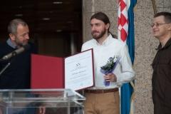 Dobitnik Nagrade Anđelko Novaković za 2017. Željko Božić.