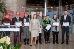 Dodjela zahvalnica pojedincima i ustanovama koje su pridonijele uspostavljanju portala Glagoljica.hr.