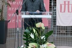 Ministrica kulture Republike Hrvatske i izaslanica predsjednika Vlade Republike Hrvatske dr. sc. Nina Obuljen Koržinek na svečanome obilježavanju Dana NSK 2018. godine.