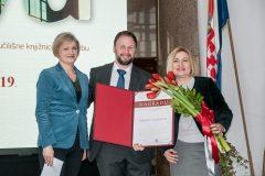 Dodjela Nagrade Nacionalne i sveučilišne knjižnice u Zagrebu za 2018. godinu.