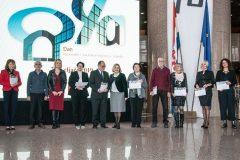 Dodjela zahvalnica pojedincima i ustanovama na svečanome obilježavanju Dana NSK 2019. godine.