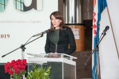 Izaslanica predsjednice Republike Hrvatske Renata Margaretić Urlić na svečanome obilježavanju Dana NSK 2019. godine.