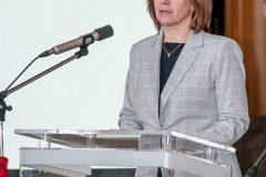 Izaslanica ministrice znanosti i obrazovanja izv. prof. dr. sc. Ivana Franić na svečanome obilježavanju Dana NSK 2019. godine.