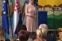 Irena Krmpotić, ravnateljica Gradske knjižnice Crikvenica, na svečanome otvorenju Mjeseca hrvatske knjige 2017. u Crikvenici.