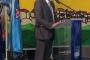 Damir Rukavina, gradonačelnik grada Crikvenice, na svečanome otvorenju Mjeseca hrvatske knjige 2017. u Gradskoj knjižnici Crikvenica.
