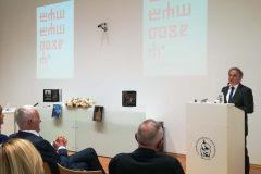 Dr. sc. Ivica Poljičak, državni tajnik u Ministarstvu kulture Republike Hrvatske, pozdravio je okupljene na svečanom otvaranju Mjeseca hrvatske knjige 2018. u ime ministrice kulture i predsjednika Vlade.